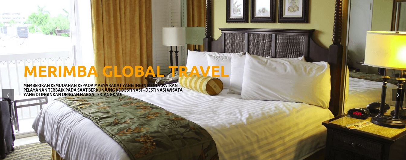 portfolio dwdproject - merimba global travel
